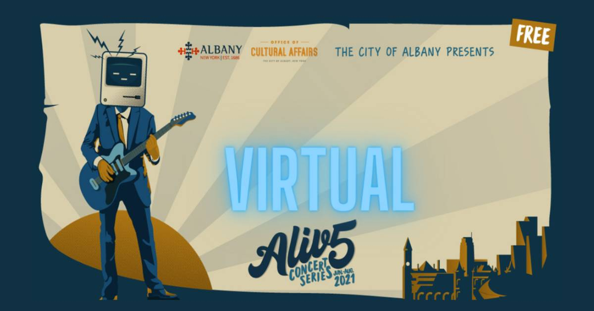 event image for alive at five concert series 2021