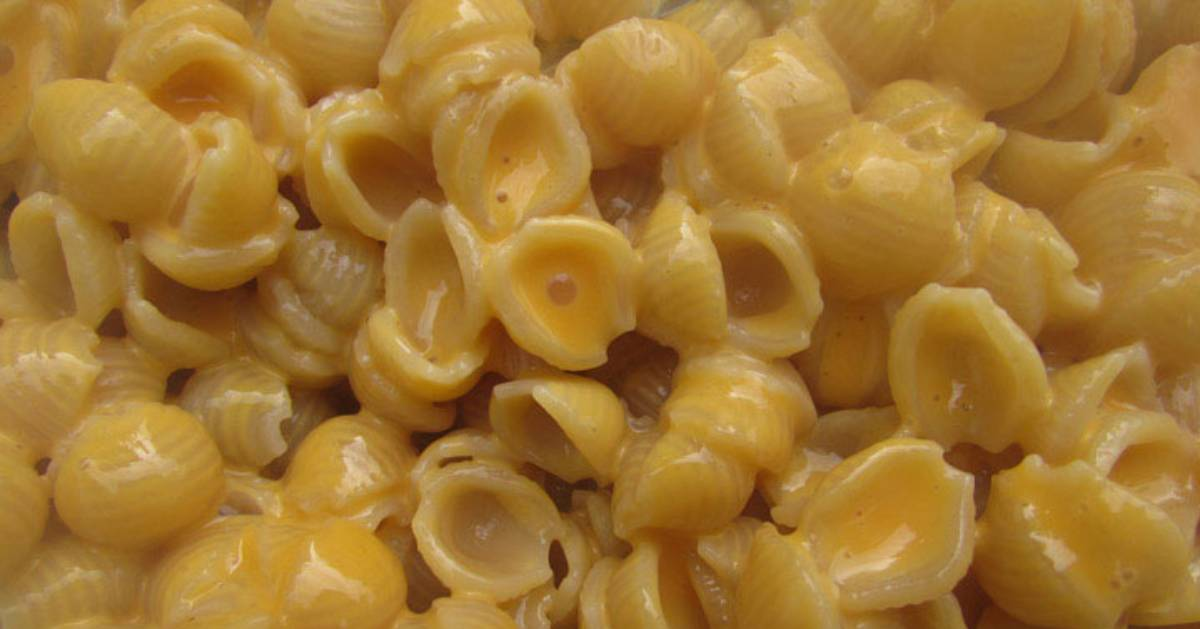 shell mac n cheese