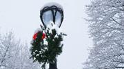 Snowy City Lantern