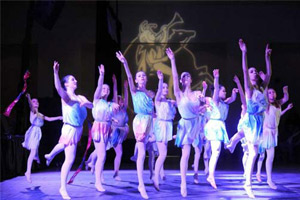 dancers at first night saratoga