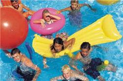 people filled pool