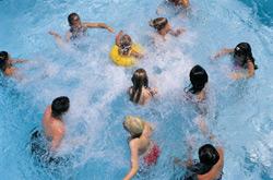family-full-pool