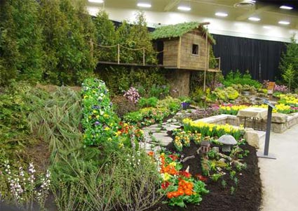 See Out Of This World Garden Floral Displays At The Capital District Garden Flower Show