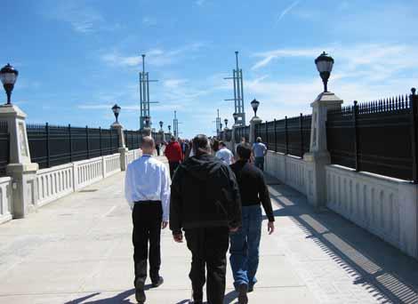 Hudson River Way Walking Bridge Albany NY