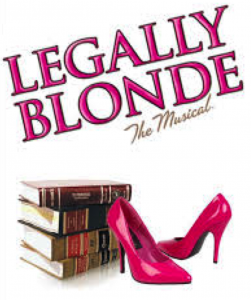 Poster for Legally Blonde The Musical