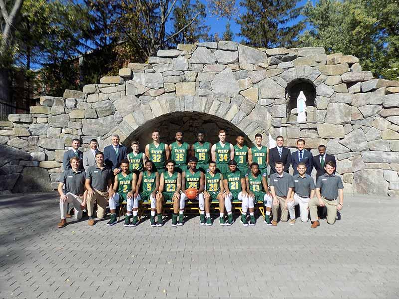 2017-18 Siena Saints Men's Basketball Team