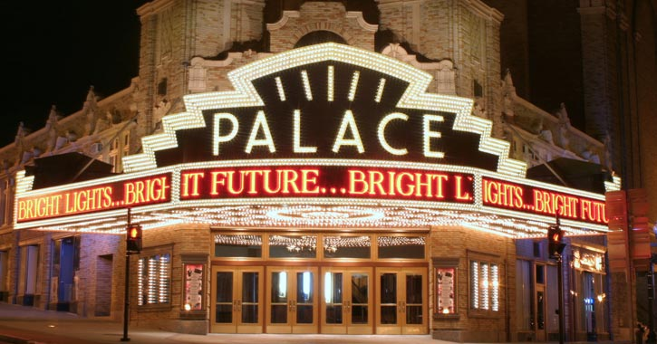 entrance of the palace theatre