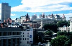rooftops in Albany
