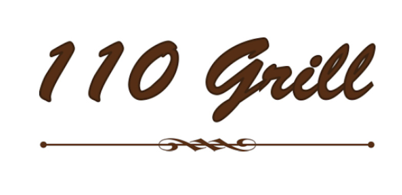 110 Grill logo