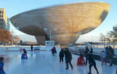 the egg near ice rink