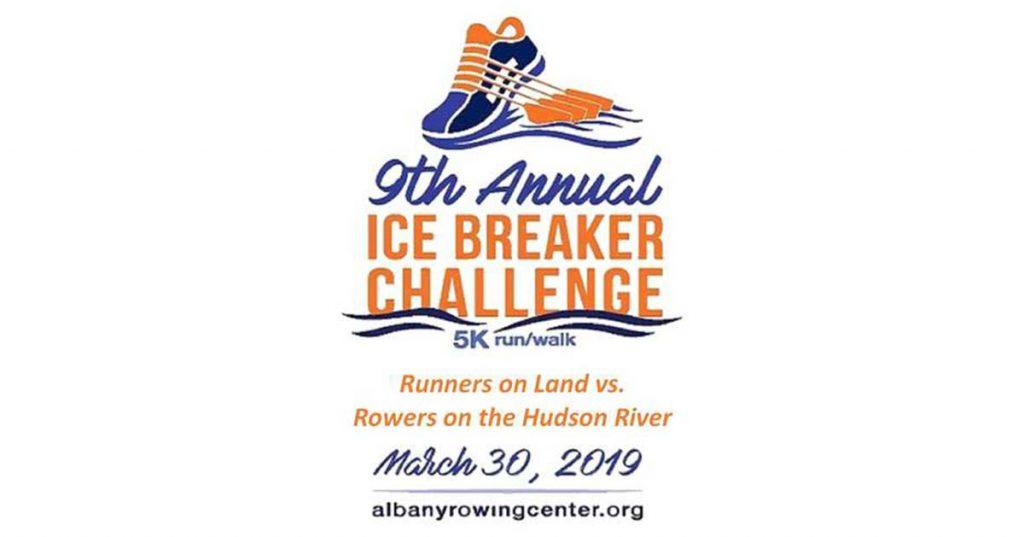 logo for ice breaker 5k race