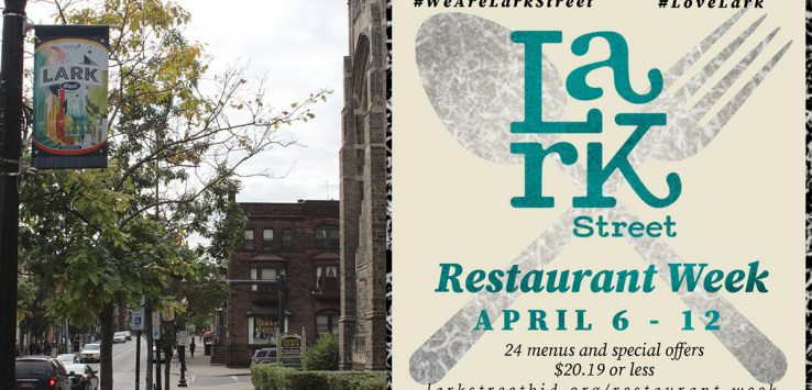 lark street and restaurant week image