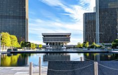 scenic view of Empire State Plaza