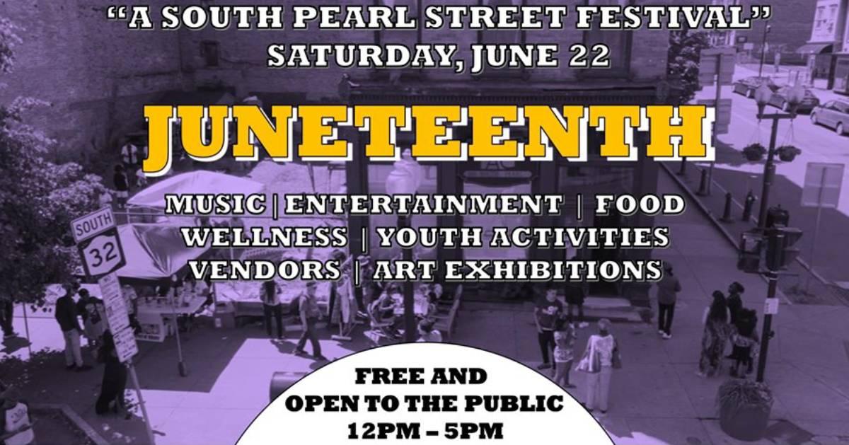 Juneteenth poster