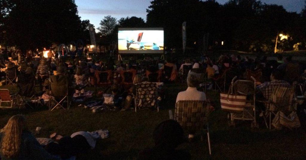 outdoor night movie