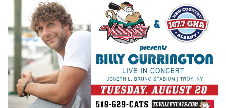 billy currington concert promo