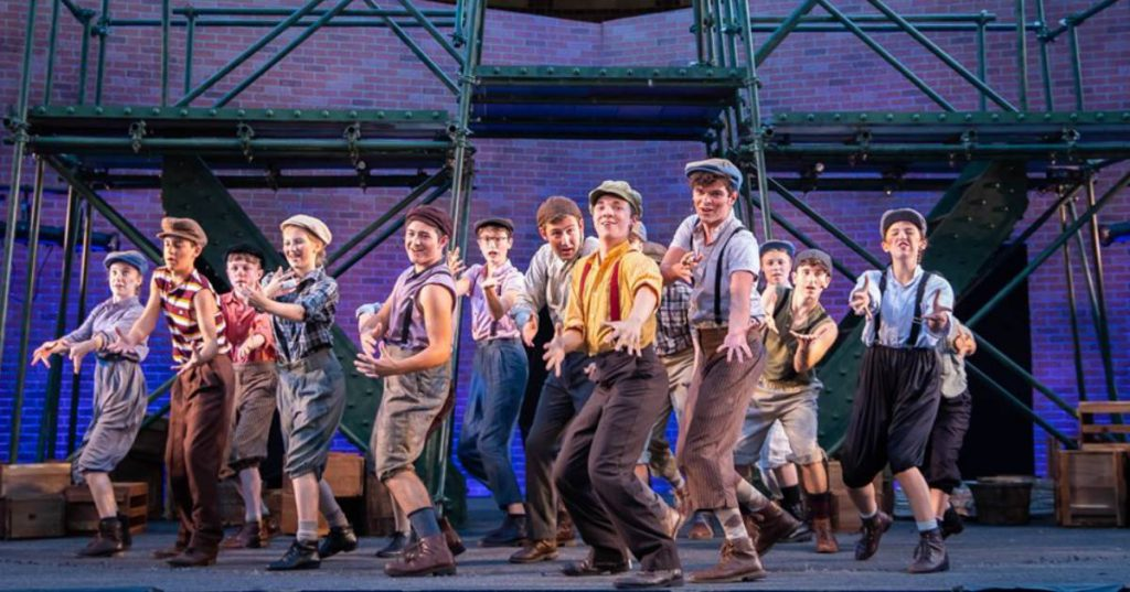 newsies production
