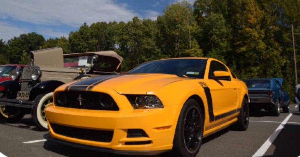 yellow cool car