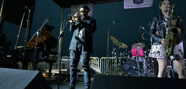 jazz musicians on stage
