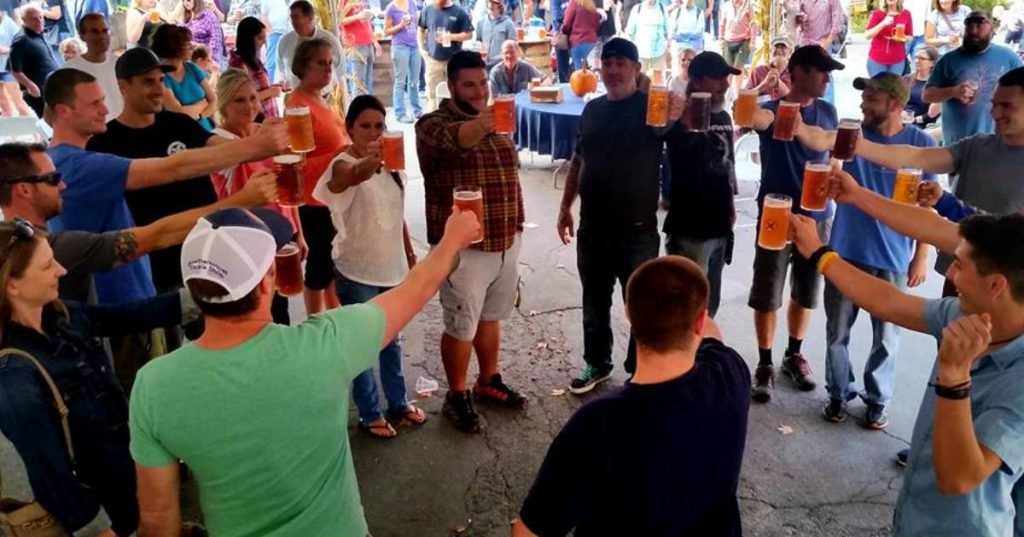 a stein hoisting competition