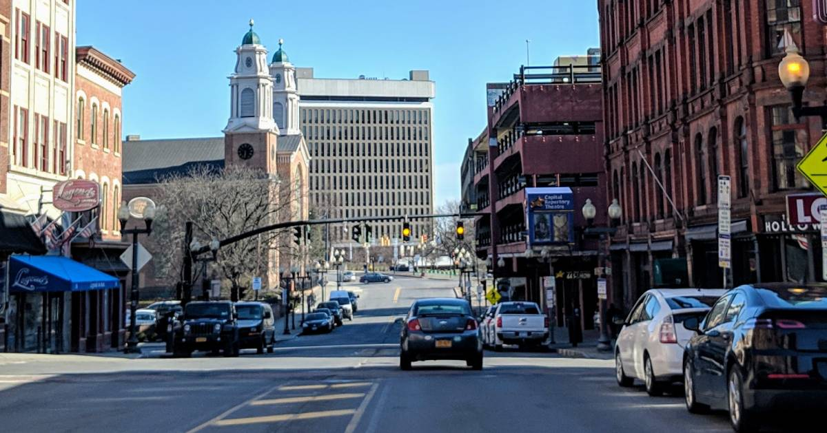 street in Albany