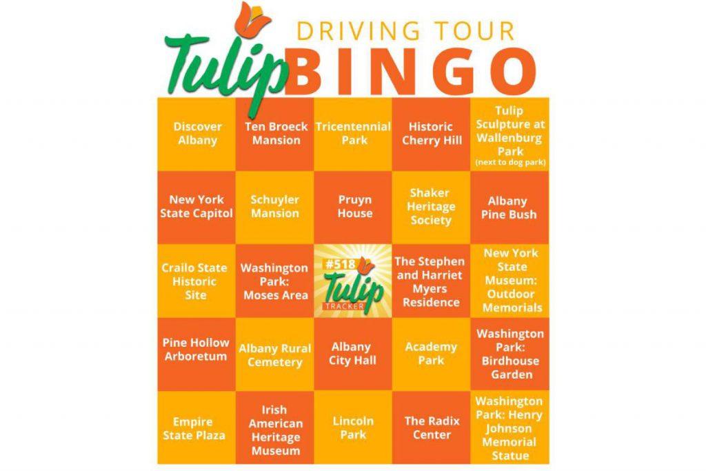 tulip bingo card