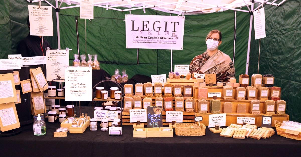 a market vendor