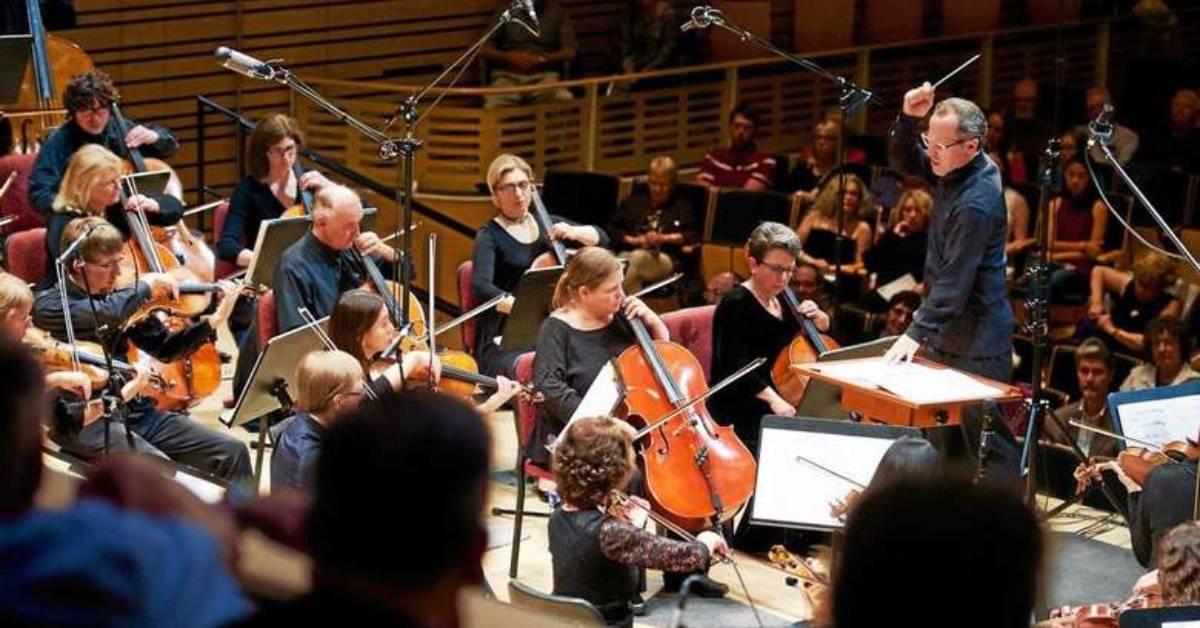 an orchestra concert