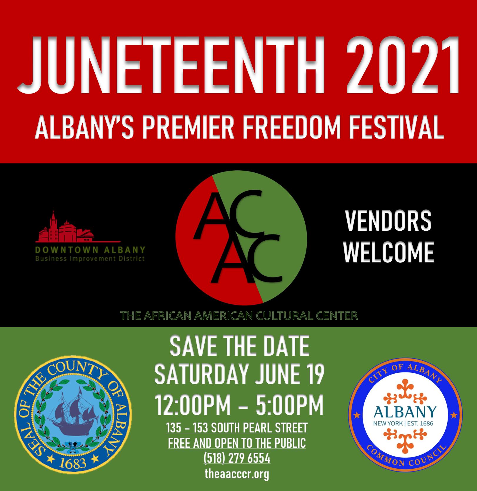 Juneteenth Festival Flyer