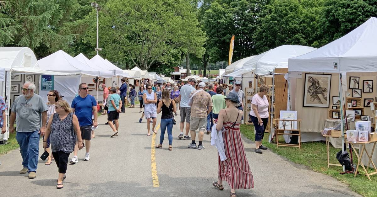 craft festival outdoors