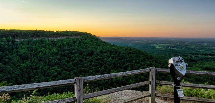 view from thacher park overlook
