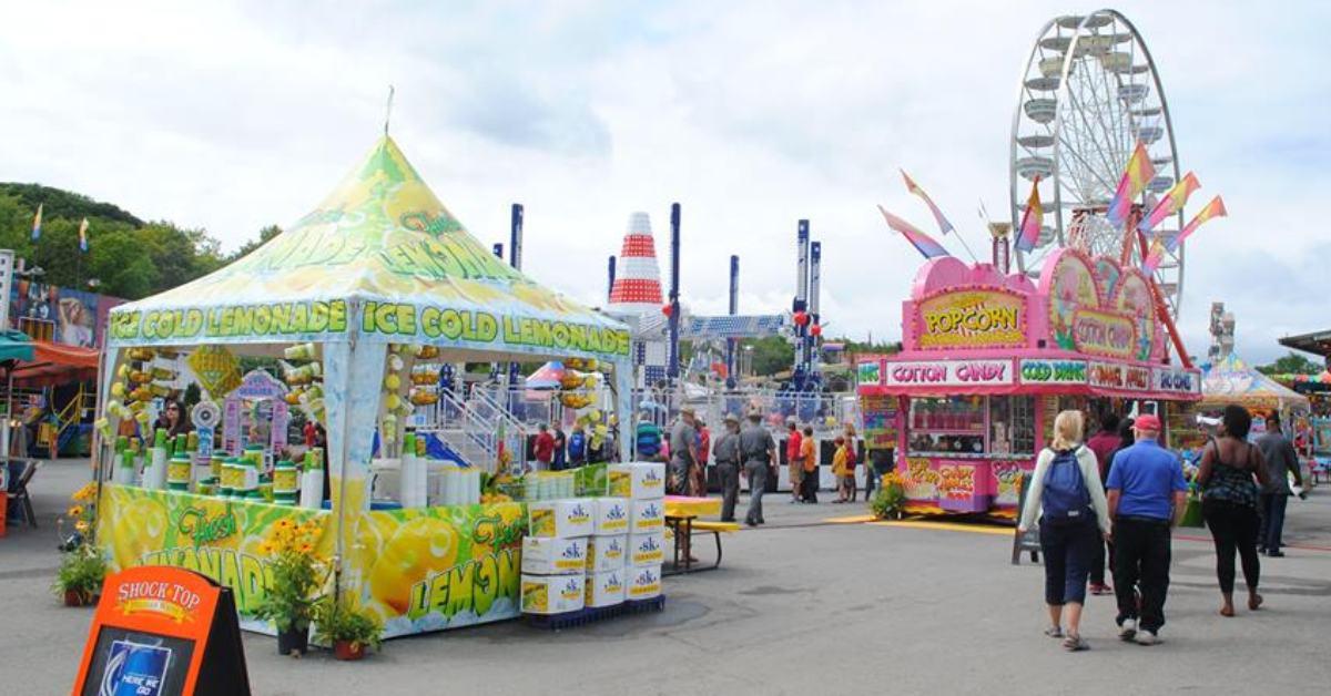 vendors at a fair