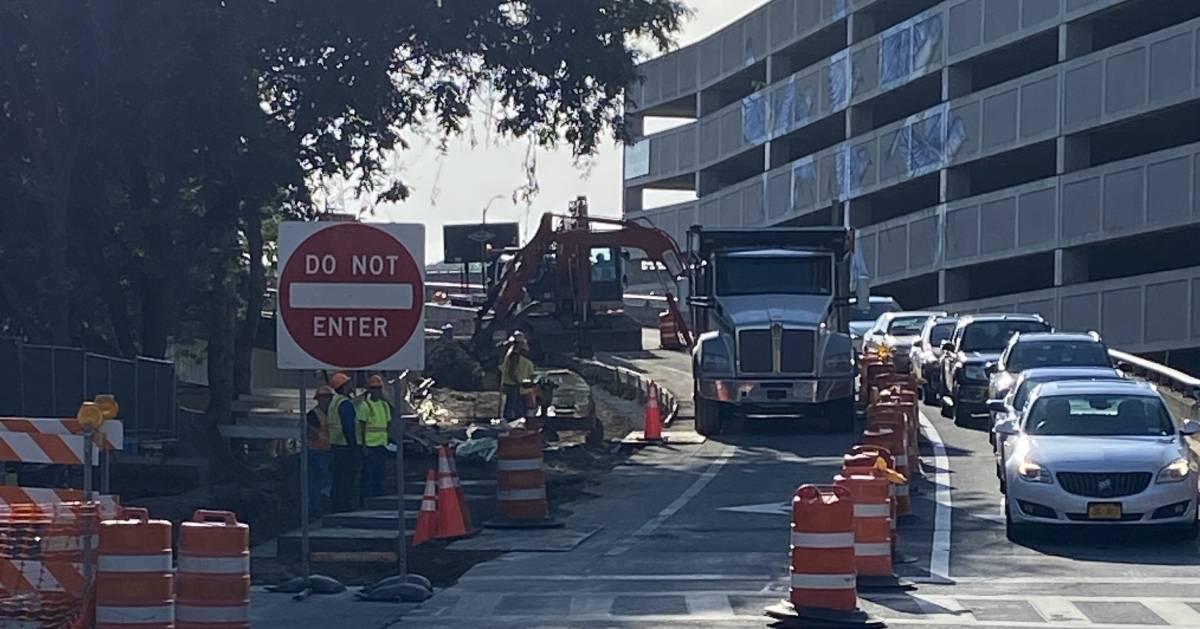 construction on ramp