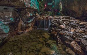 explore underground wonders at Howe Caverns